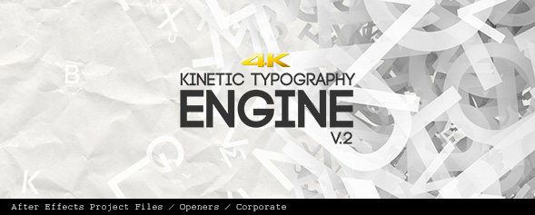 Kinetic Typography Engine V2 4K