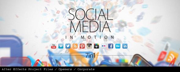 Social Media in Motion